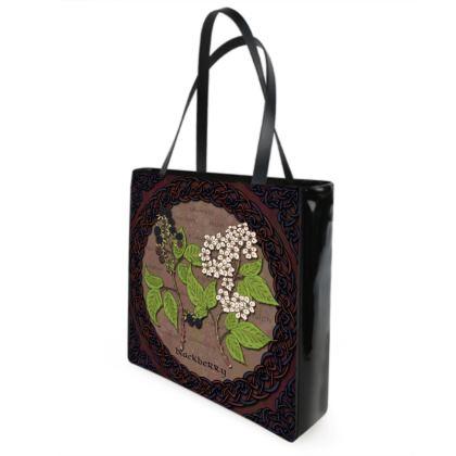 Celtic Blackberry Shopper Bag