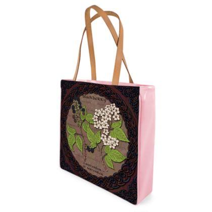 Tree Calendar Blackberry Shopper Bag