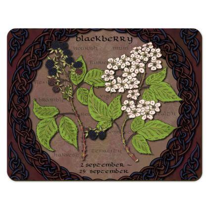 Tree Calendar Blackberry Placemats