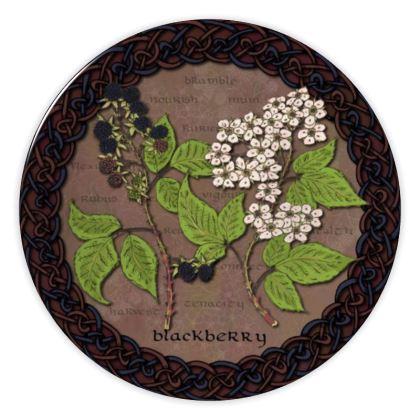 Celtic Blackberry China Plate
