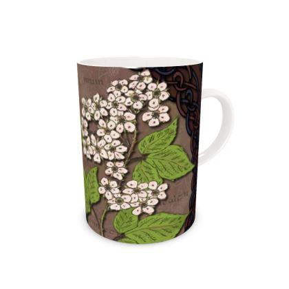 Celtic Blackberry China Mug