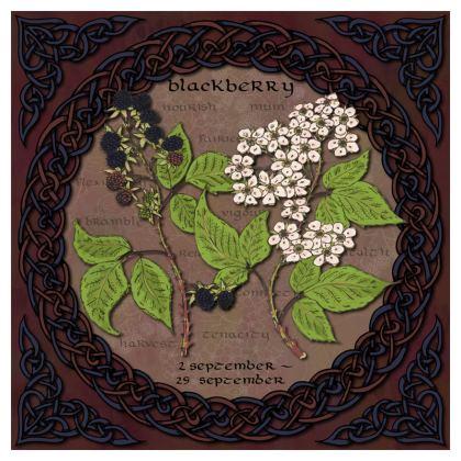 Tree Calendar Blackberry Cushion