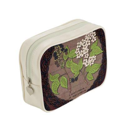 Tree Calendar Blackberry Make Up Bag