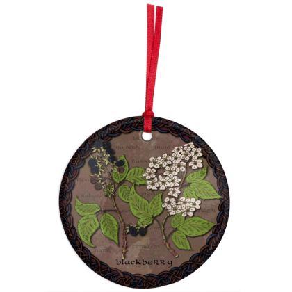Celtic Blackberry Hanging Ornament