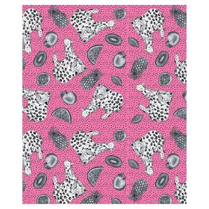 Leopard Ladies Bomber Jacket