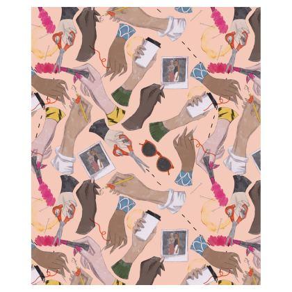 Fashion Hands Ladies Bomber Jacket