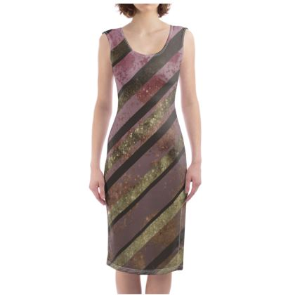 Dark Pink Bodycon Dress