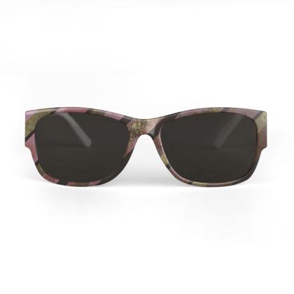 Dark Pink Sunglasses