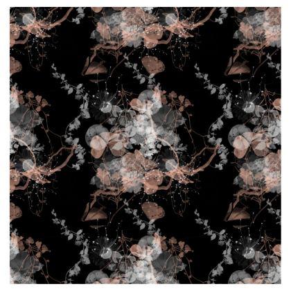 Black Garden Towels