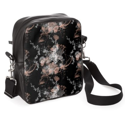 Black Garden Shoulder Bag