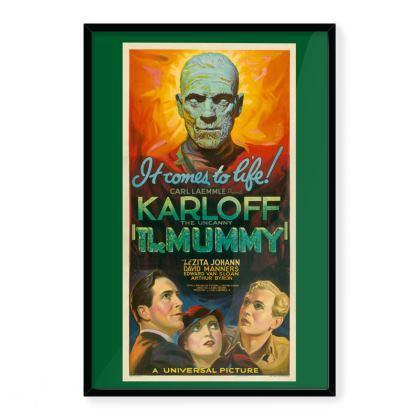 "Vintage ""The Mummy"" Premium Art Print"
