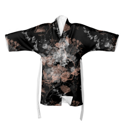 Black Garden Kimono