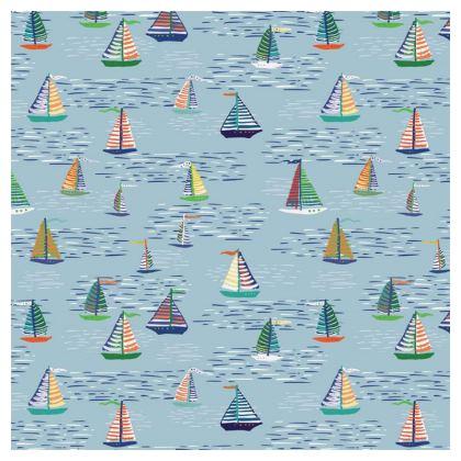 Regatta Collection (Boats - Blue) - Luxury Mens Swimming Shorts