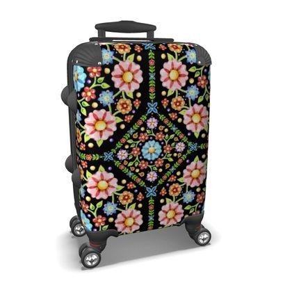Millefiori Floral Suitcase