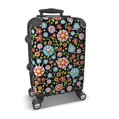 Millefiori Flowers Suitcase