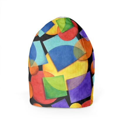 Candy Rainbow Celtic Beanie