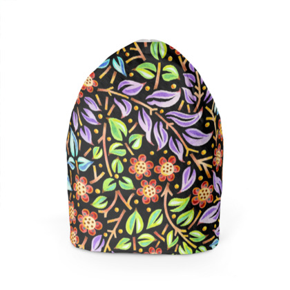 Big Top Filigree Floral Beanie