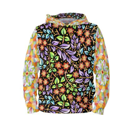 Big Top Filigree Floral Hoodie