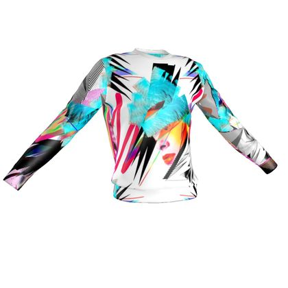 Pink Vaporwave Sweatshirt