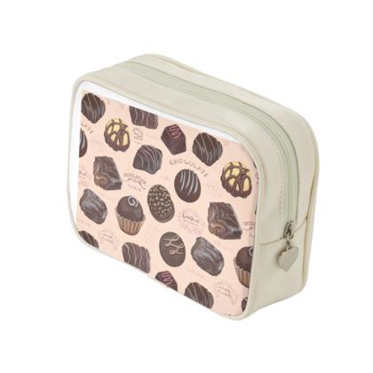 Delectable Chocolates Make Up bag