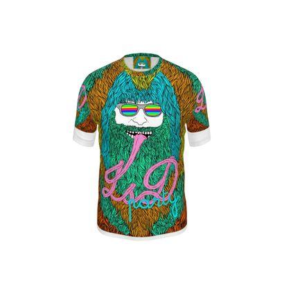 Acid Trip Cut and Sew T Shirt