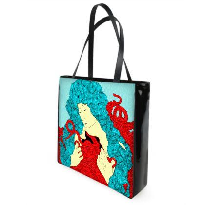 Surreal Figure Beach Bag