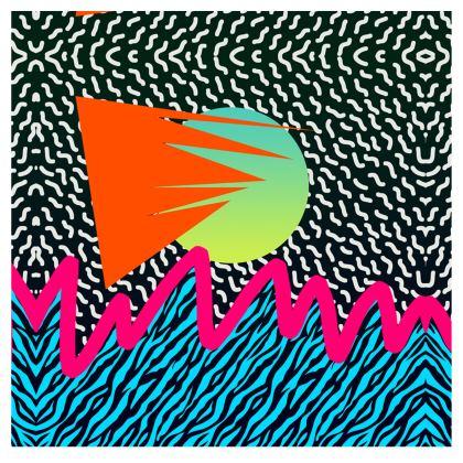 Pop Art Patterned Swimsuit