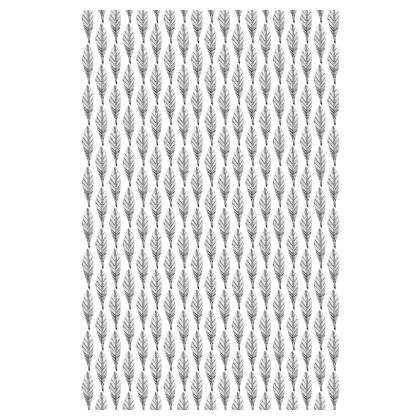 Black and White Feather Slip Dress