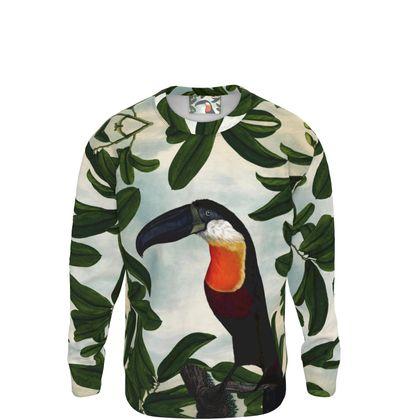 Tropical Bird Sweatshirt