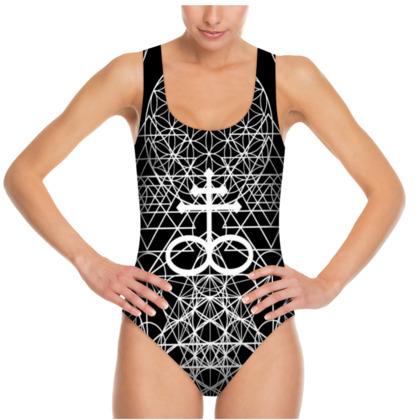 Geometric Alchemy Swimsuit