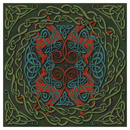 Celtic Greyhounds Coasters (Red/Green)