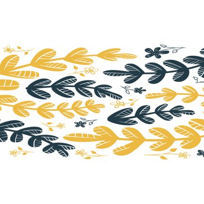Yellow Leaves Tray