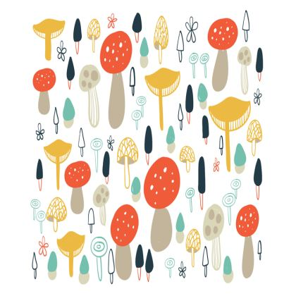 Forest Mushrooms Trays