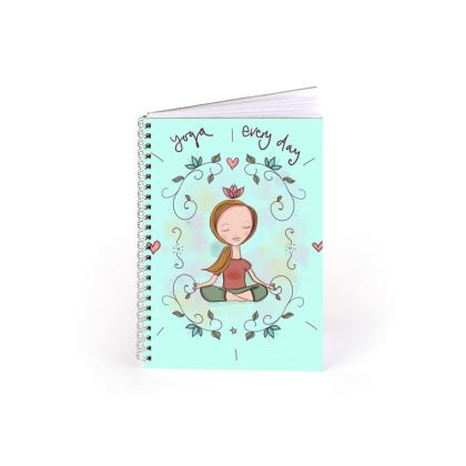 Yoga every day note book