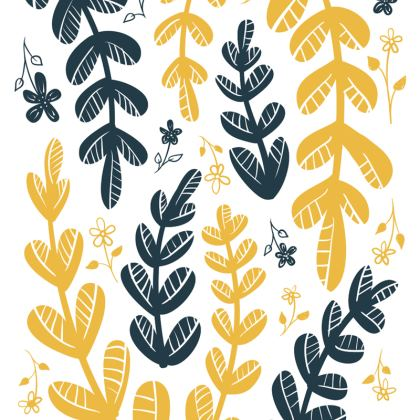 Yellow Leaves Espadrilles