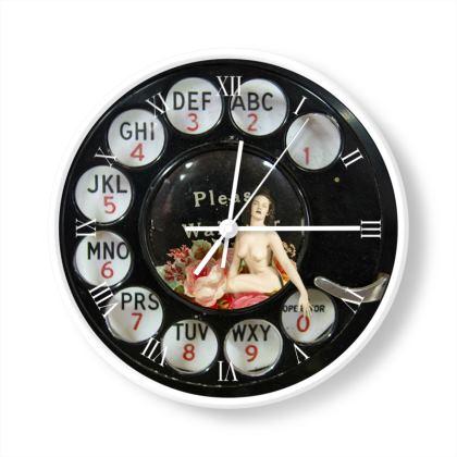 Phone Clock Watch Fob 4