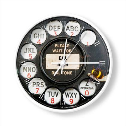 Fob Watch Phone Clock 1