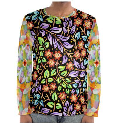 Big Top Filigree Floral Long Sleeve Shirt