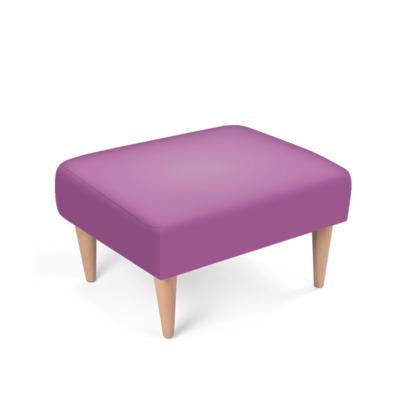 Purple Footstool