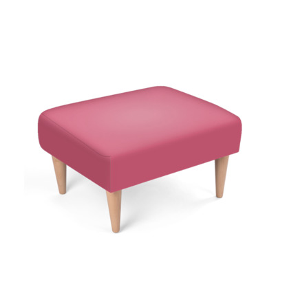 Pink Footstool