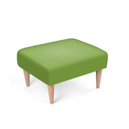 Bright Green Footstool