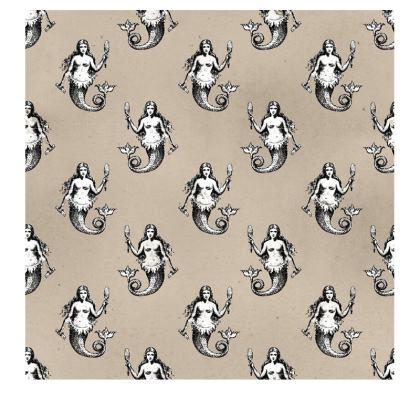 Mermaids Heraldic Ivory Slip Dress