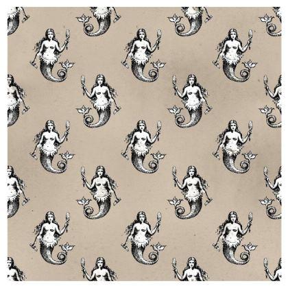 Mermaids Heraldic Ivory Kimono Jacket