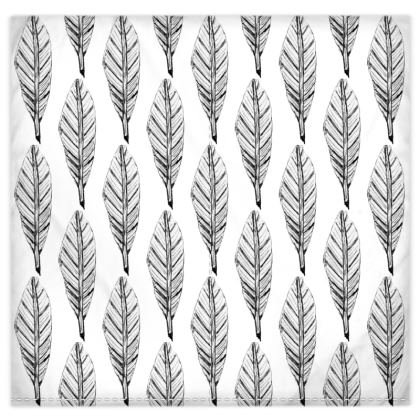 Black and White Feather Duvet Covers