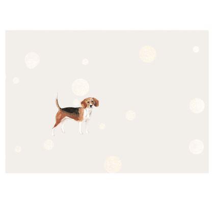 Beagle dog face mask
