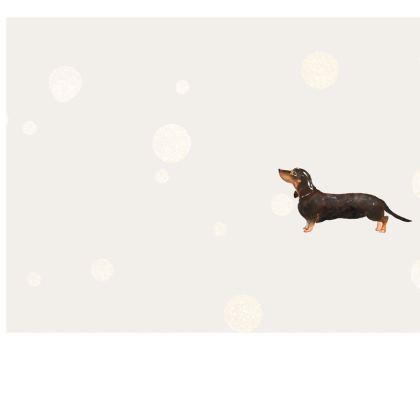 Dachshund Dog - Face Mask