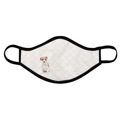 Jack Russell Dog - Face mask