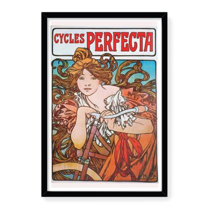 Vintage Alphonse Mucha Poster Art Print