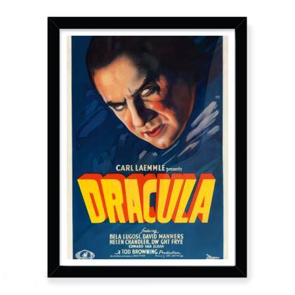 Vintage 'B' movie poster - Dracula small