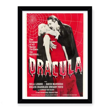 Vintage Dracula Movie Art Print